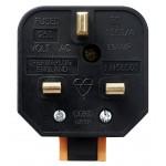 Masterplug Rewireable Heavy Duty Plug 13A Fused Orange HDPT13O PermaPlug