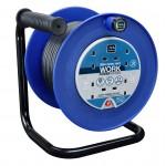 Masterplug LDCC2513/4BL 25M Open Reel 4X 13A Blue & Black