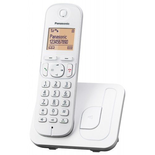 Panasonic KX-TGC210FXW Digital Cordless Phone White