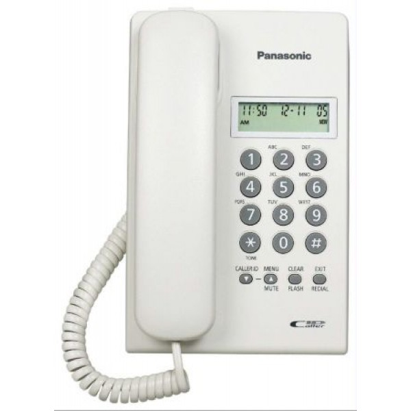 Panasonic Corded Telephone KX-TSC60 White