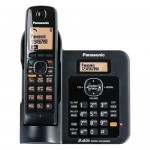 Panasonic KX-TG3811BXB 2.4Ghz Cordless Phone Black