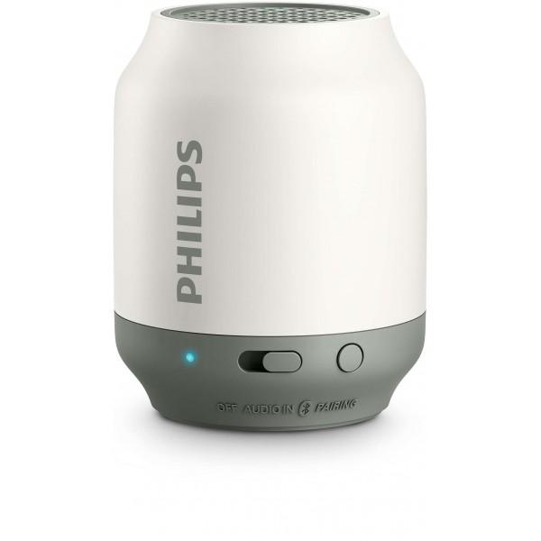 Philips BT50W/00 Wireless portable Bluetooth speaker - White