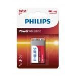 Philips 6LR61P1B/97 Power Alkaline Batteries 9V 1 pcs/pack