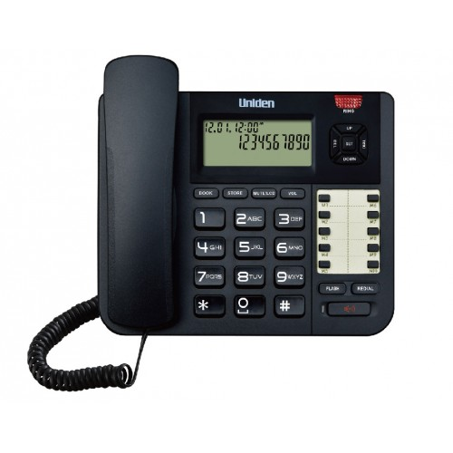Uniden Phone Book High Quality Speakerphone Name and Number CID 10 Direct Memory CE8402