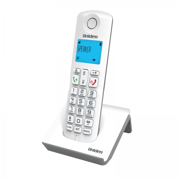 Uniden AT3101 DECT  (1.8 Ghz) Speaker Phone and LCD Backlit White